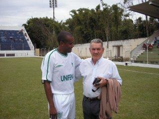 Zé Richardi, com o amigo Ronaldo !