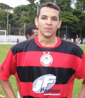 Rodrigo, agora terá a chance de mostrar seu futebol no Sul e Sudoeste Mineiro