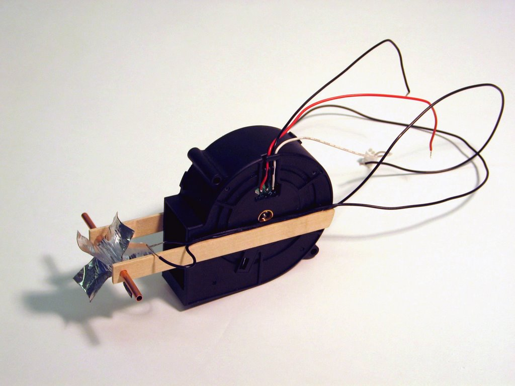 Shybones Fan Activated Switch The Optical Theremin Simple