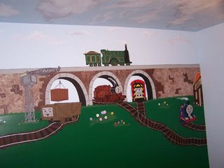gretchen s creations with your inspirations all aboard thomas the tank 3d wall and engine on pinterest