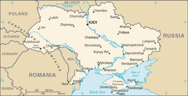 Shortwave Central August - Kremenchuk map
