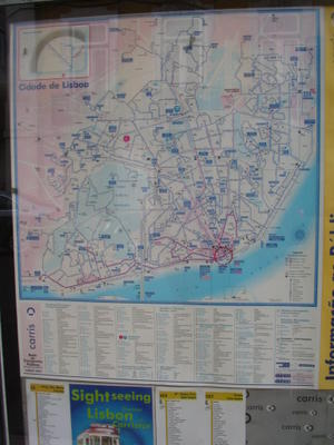 map of Lisbon public transport