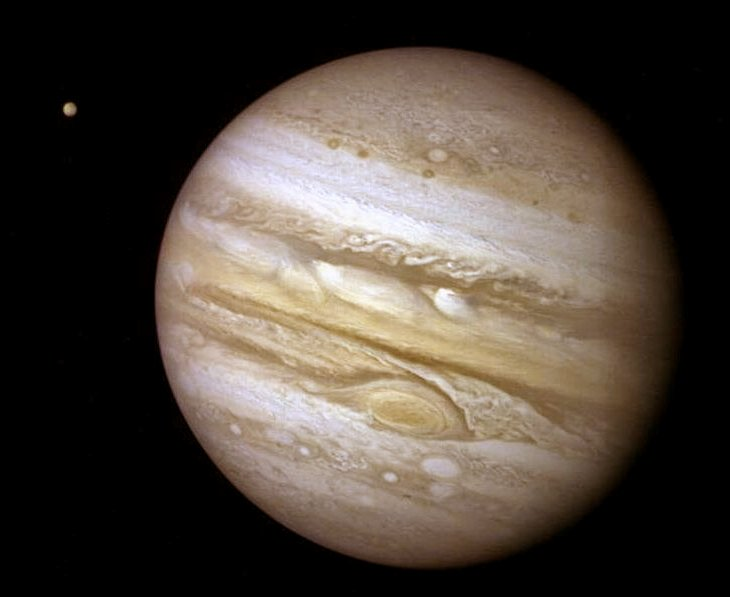 hubble space telescope image of jupiter