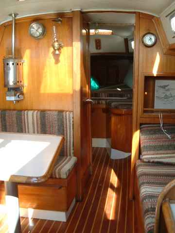For sail 1975 ericson 27 sloop clean updated ready to sail - One time interior house cleaning ...