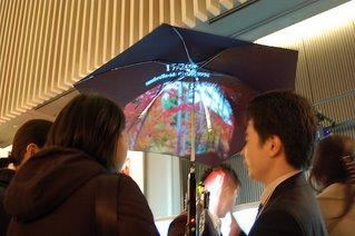 hi tech brolly High tech umbrella   Pileus