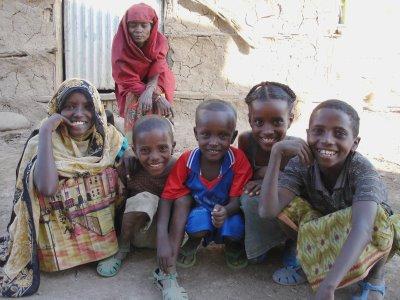 Membros da etnia Afar