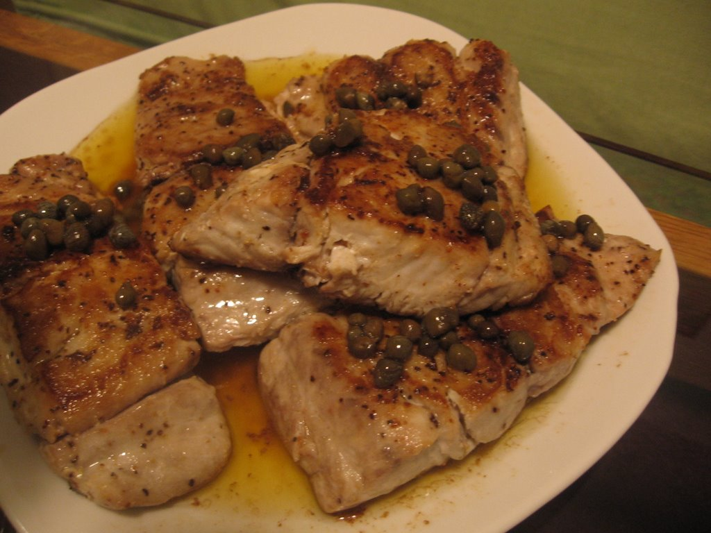 Baked bluefish for Blue fish recipes