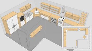 Vivienda mania planificador 3d de cocinas ikea for Planificador de cocinas
