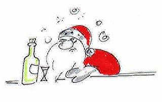 weihnachtsmann cartoon