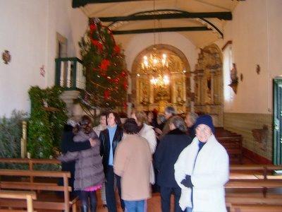 saída da missa