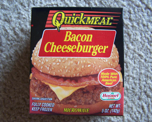 He Has Tried The Hormel Brand Frozen Microwave Cheeseburgers And Says These Burgers For Something That Is Already Made Microwaveable
