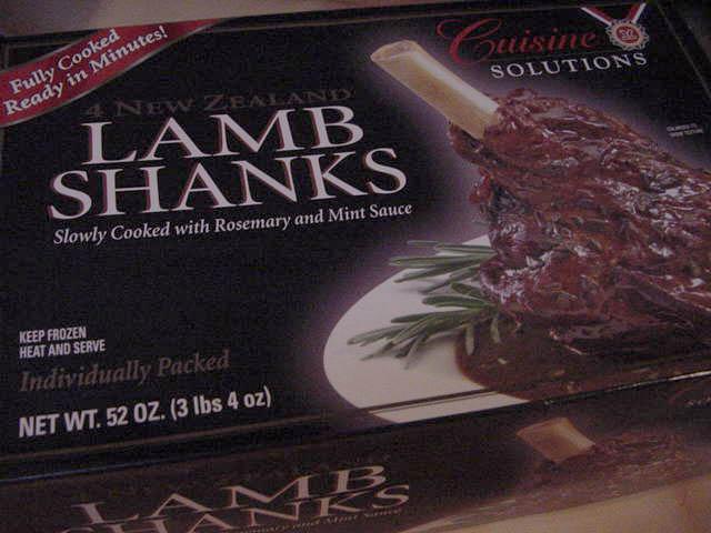 fat pride times cuisine solutions frozen lamb shanks. Black Bedroom Furniture Sets. Home Design Ideas