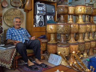 Ostad Helmi and his tonbaks