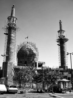 Mosque under construction Tehran, Iran
