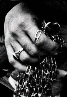 zanjir, chains for self-flagellation