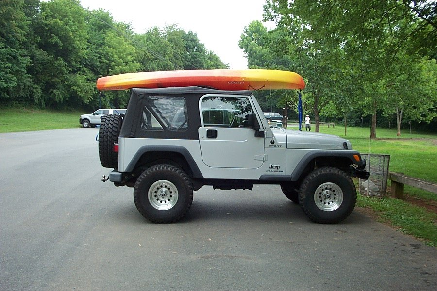 Kia Soul Roof Rack >> Carry kayak on jeep wrangler