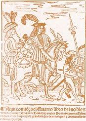 Don Amadís de Gaula, primo hermano del Armandís de Mina