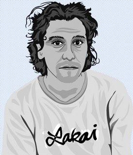 ilustración para una revista de skate