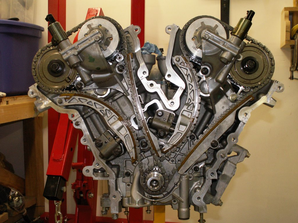 Jaguar Motor Project 7 Timing Is Everything The Belt And Front Oil Seal On A Luckily Rh Bank Outer Chain So I Can Leave Lh In Place For This
