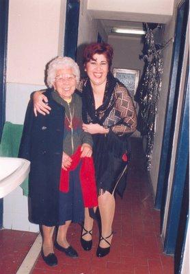 Foto de Germana, a costureira do Teatro