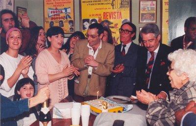 Foto de Germana onde figura o actor Paulo Vasco e o empresário Helder Costa