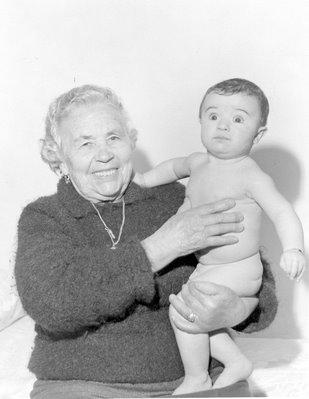 Foto de Maria Augusta, mãe da Germana
