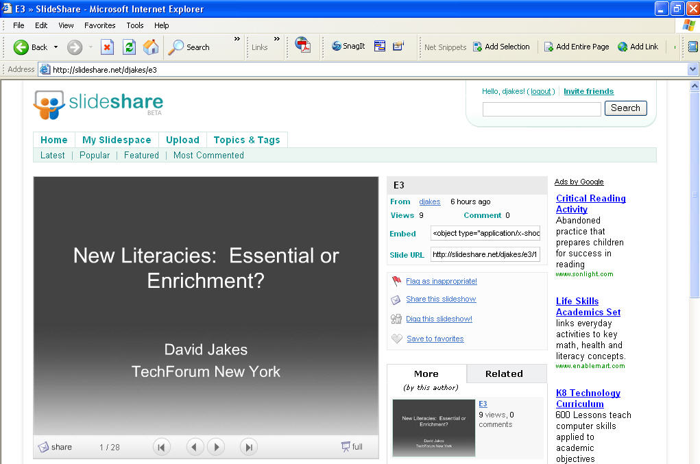 the strength of weak ties share powerpoints with slideshare