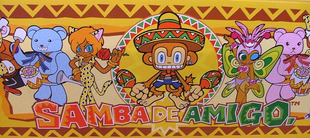 samba de amigo arcade
