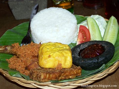 Fried Chicken from Cabe Rawit Cafe