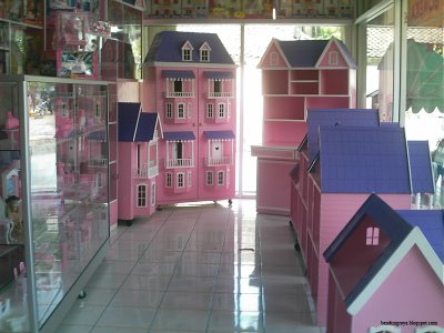 Inside the Barbie House