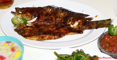 """Ikan Bakar Do'i"" (Do'i Roasted fish)"