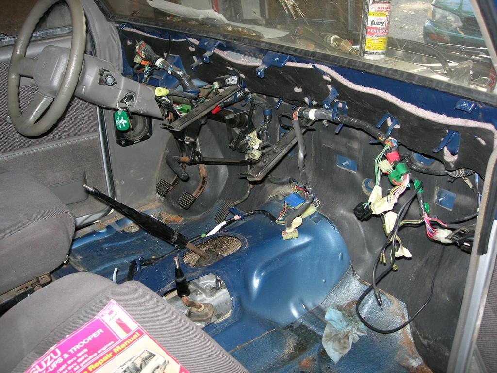 1988 Isuzu Trooper diesel conversion September 2005 – Isuzu Trooper Wiring-diagram Interior Lights