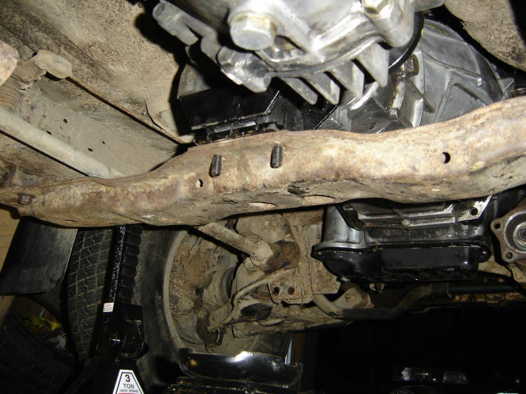 Transmission Mounting. As Usual, Click Images For Larger Versions.