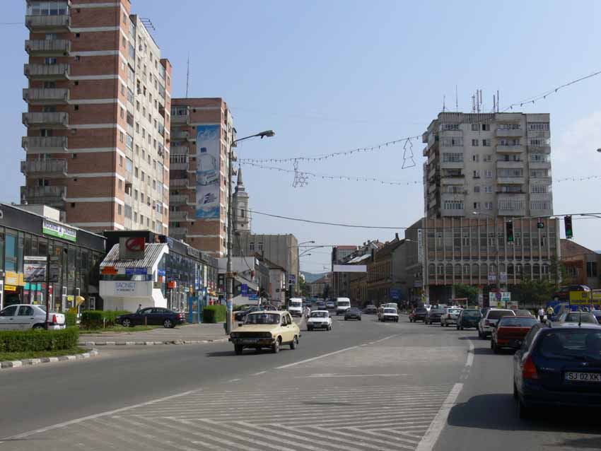 Arriving Into Zalau We Were Greeted With Congestion And Blocks At Every Corner In Its Current Format The Town Is A Far Cry From Its Origins As The First