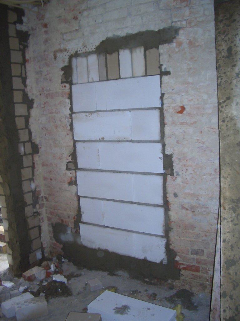 St tzen und t ren bargten19 for Fenster zumauern