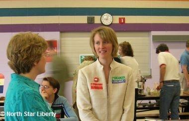 Sarah Anderson (Photo: North Star Liberty)