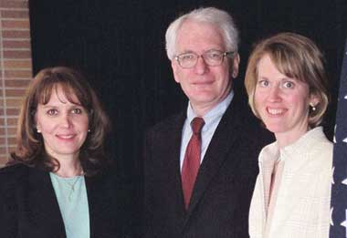 Judy Johnson, Ron Abrams, Sarah Anderson. (Submitted photo)