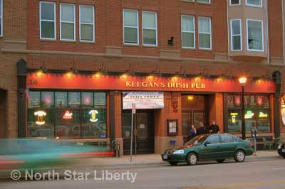 Keegan's Irish Pub (Photo: North Star Liberty)