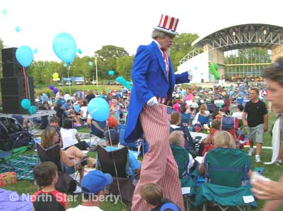 Uncle Sam (Photo: North Star Liberty)