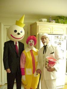 fast food halloween