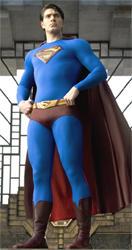 Brandon Routh como Clark Kent-Superman