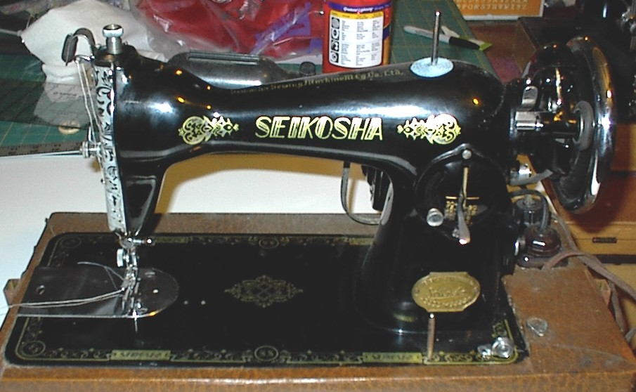Vintage Sewing Machines Japanese Clones Of The 40's 40's And 40's Magnificent Marvel Sewing Machine