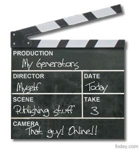 Movie Clapper Board Generator