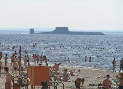 Funny Russian submarine