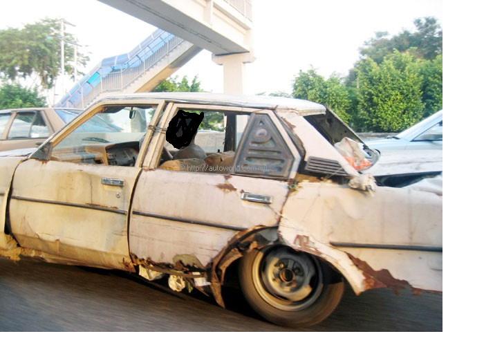 Самая убитая машина