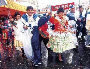 foto carnaval oruro 2006: