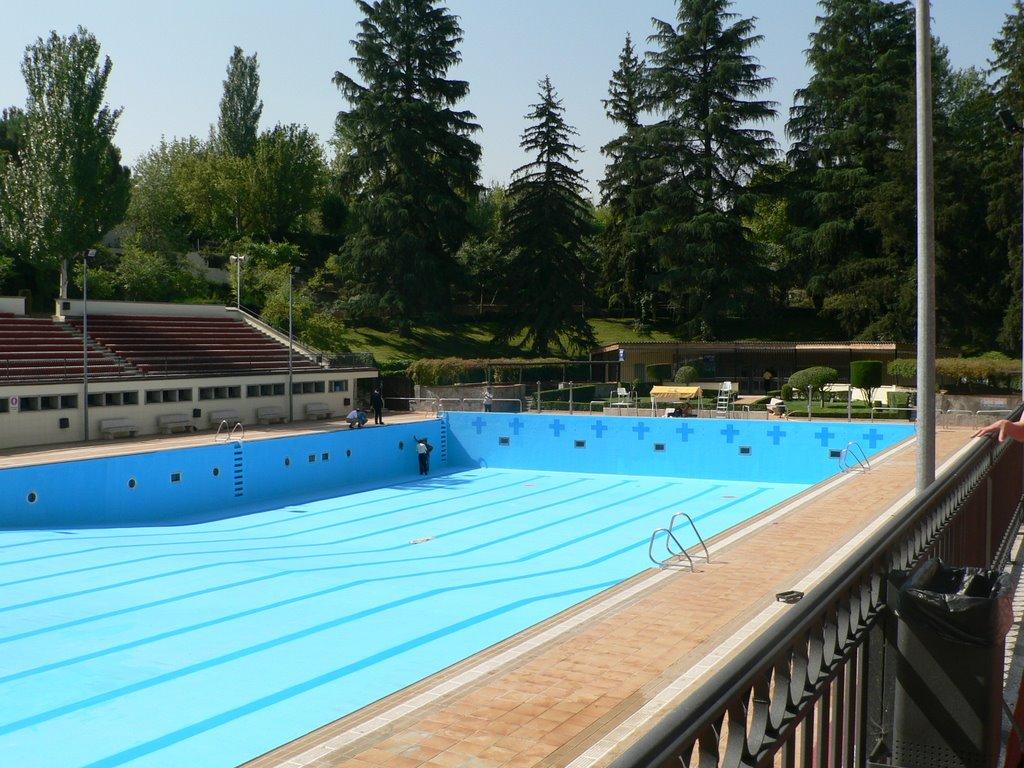 La piscina ol mpica de la casa de campo vac a pero pagas for En la piscina
