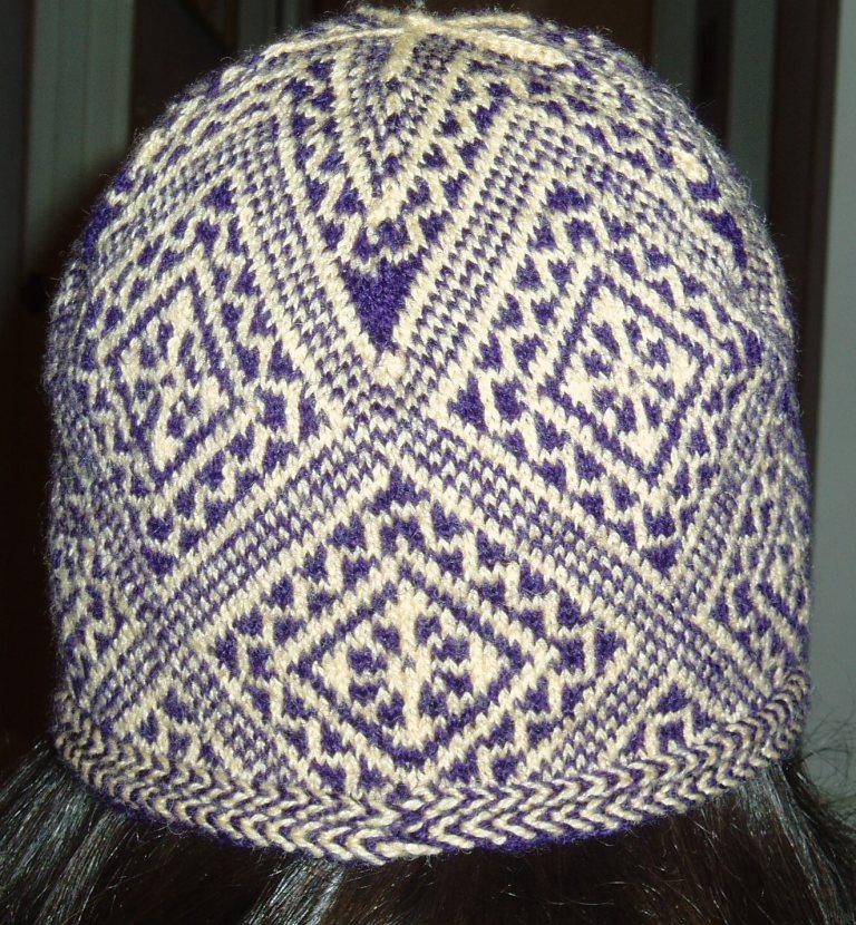 The Knitting Process: Latvian Hat Pattern