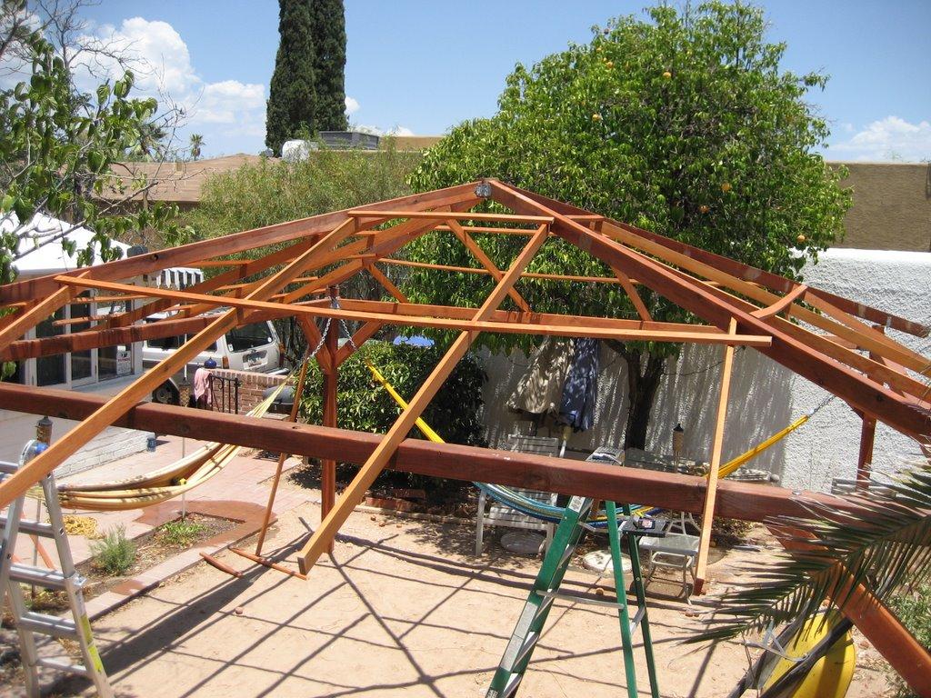 Tucson Palapa Build