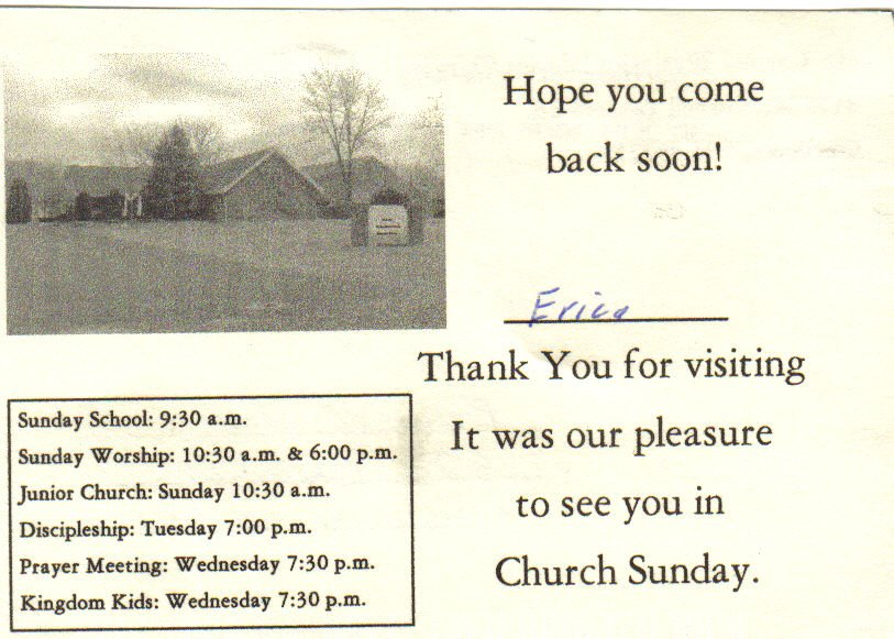 Church hopping church 8 thank you letter visit church 8 thank you letter visit spiritdancerdesigns Choice Image